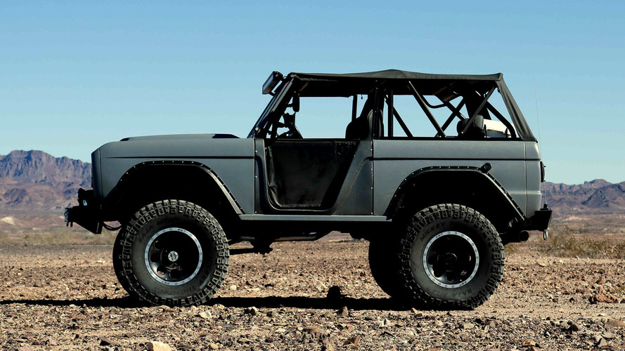Zero to 60 Designs restores a Ford Bronco as an