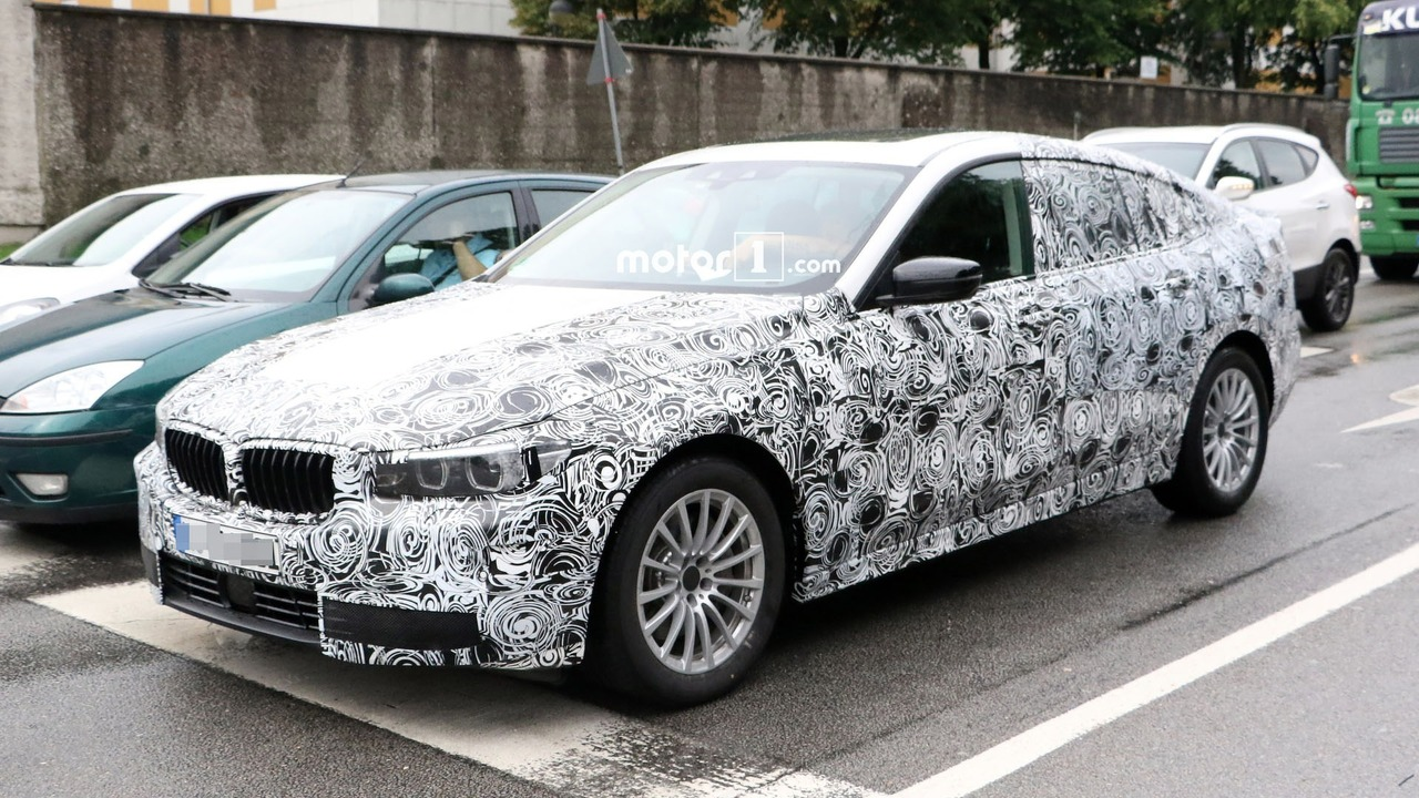 BMW 5 Series GT Spy Pics