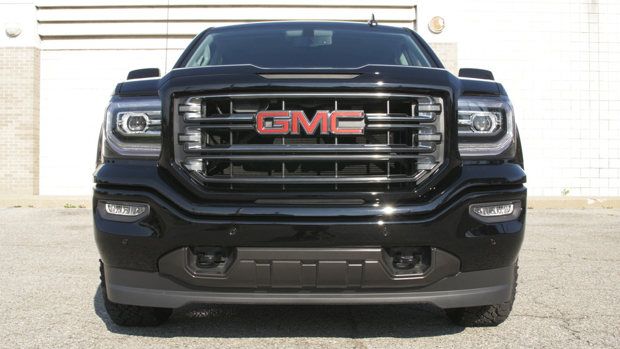 What does the GMC Sierra All Terrain X get that the standard All Terrain does not?