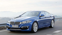 BMW 4-Series Gran Coupe rendered speculation