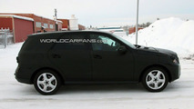 2012 Mercedes ML-Class Spied Cold Weather Testing in Sweden 04.12.2009
