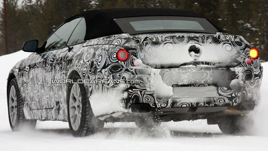 2011 BMW 6-Series Convertible Latest Winter Testing Spy Photos