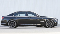 BMW 7 Series with Hamann wheels