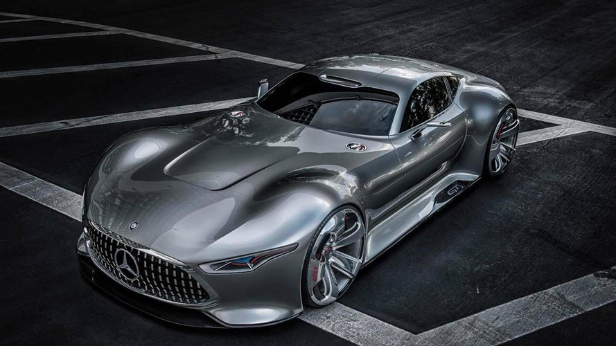 AMG Vision Gran Turismo to reach limited production via custom builder, based on the SLS AMG GT