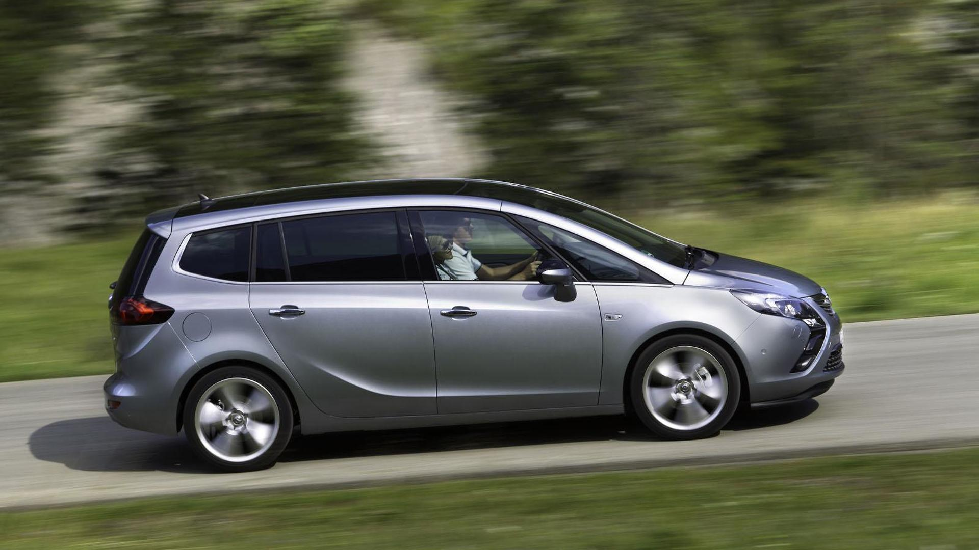 opel zafira tourer 1 6 sidi turbo announced with 200 hp. Black Bedroom Furniture Sets. Home Design Ideas