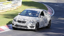 2014 Seat Leon Cupra spied for first time
