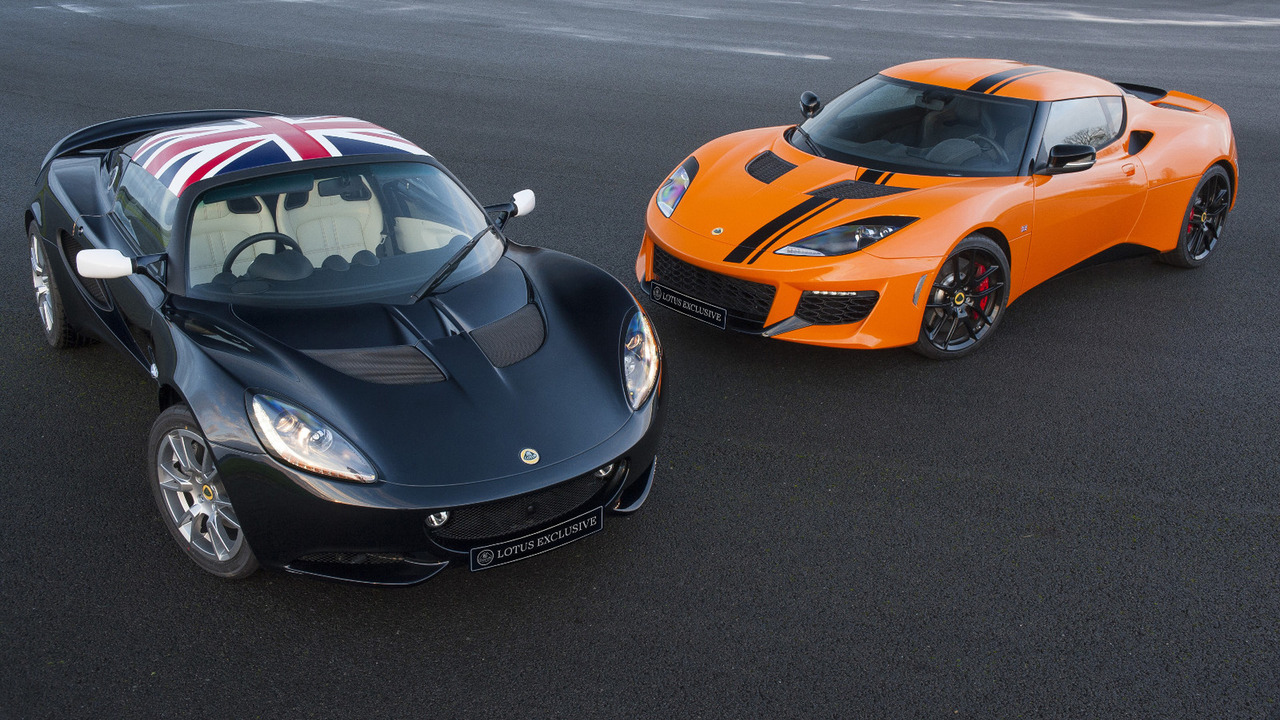 Lotus Exclusive Evora & Elise