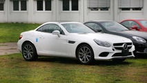 Mercedes SLC spy photo