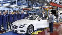 Mercedes kicks off S-Class Cabriolet production in Sindelfingen