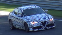 Alfa Romeo Giulia Quadrifoglio goes all out on the Nurburgring [video]