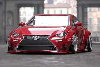 Insanely Tuned 2015 Lexus RC Heads to SEMA