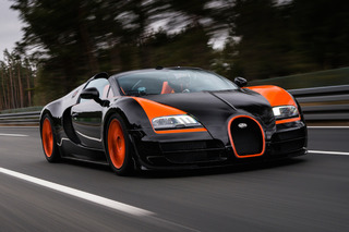 DJ Afrojack Hits 200MPH in a Bugatti Like It's No Big Deal [Video]