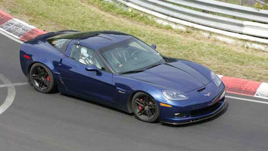 Corvette Blue Devil Spy Photos