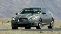 Jaguar XF-R Spy Photo