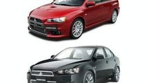 Mitsubishi Lancer Evo X and Galant Fortis