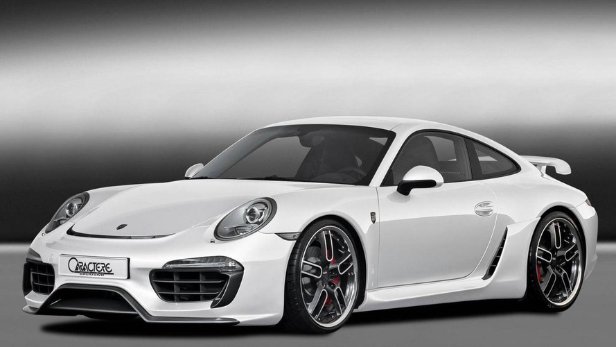 Porsche 911 (991) gets aero kit from Caractere Exclusive - 2012 SEMA