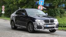 Possible BMW X4 M40i spied once more