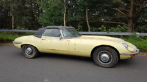 Barn find 1972 Jaguar E-Type heading to auction