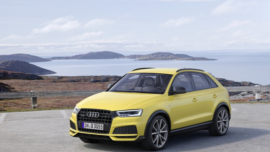 2017 audi q3 debuts with subtle facelift. Black Bedroom Furniture Sets. Home Design Ideas
