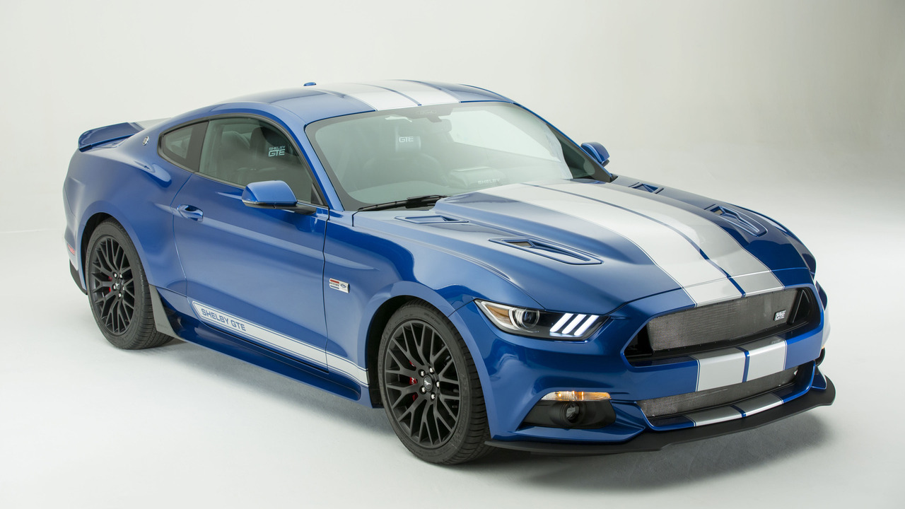 Mustang Performance Parts >> 2017 Shelby GTE unveiled at Indianapolis Motor Speedway