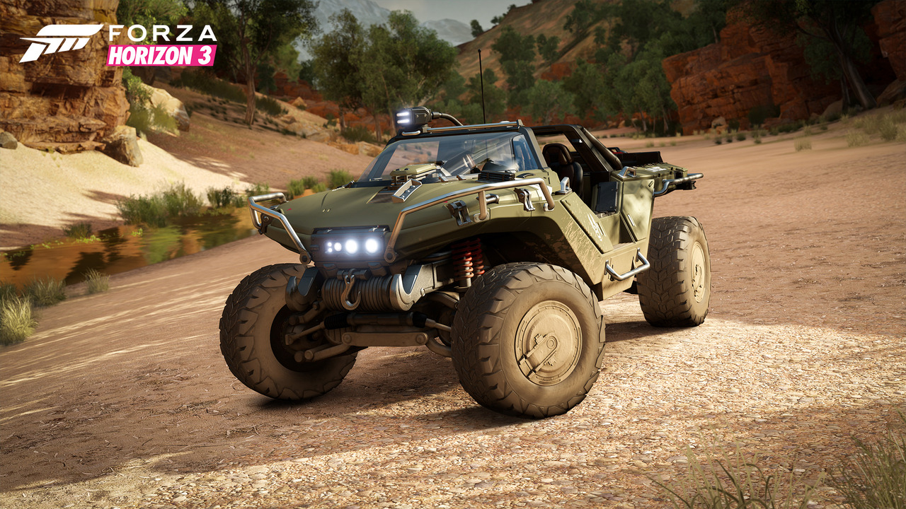 Halo Warthog in Forza Horizon 3
