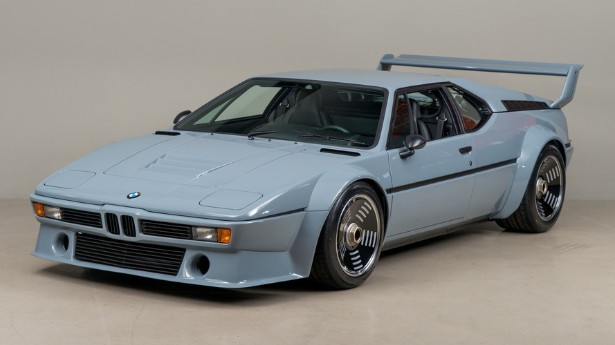 BMW M1 Procar restoration detailed in 89 photos