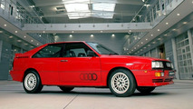 Audi quattro Stars in Ashes to Ashes BBC TV Series