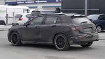 Mercedes-Benz GLA 45 AMG spy photo 25.03.2013 / Automedia