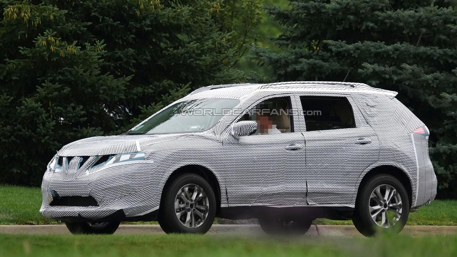 2015 Nissan X-Trail (Rogue) spied testing in United States