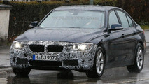 BMW 3-Series facelift spy photo
