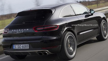 Porsche Macan three-door render