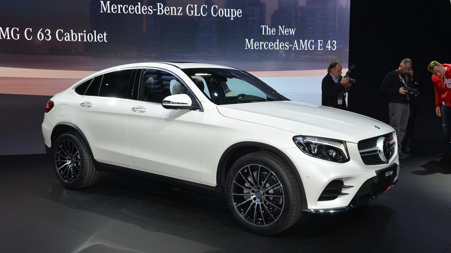 Mercedes GLC Coupe officially unveiled [videos]