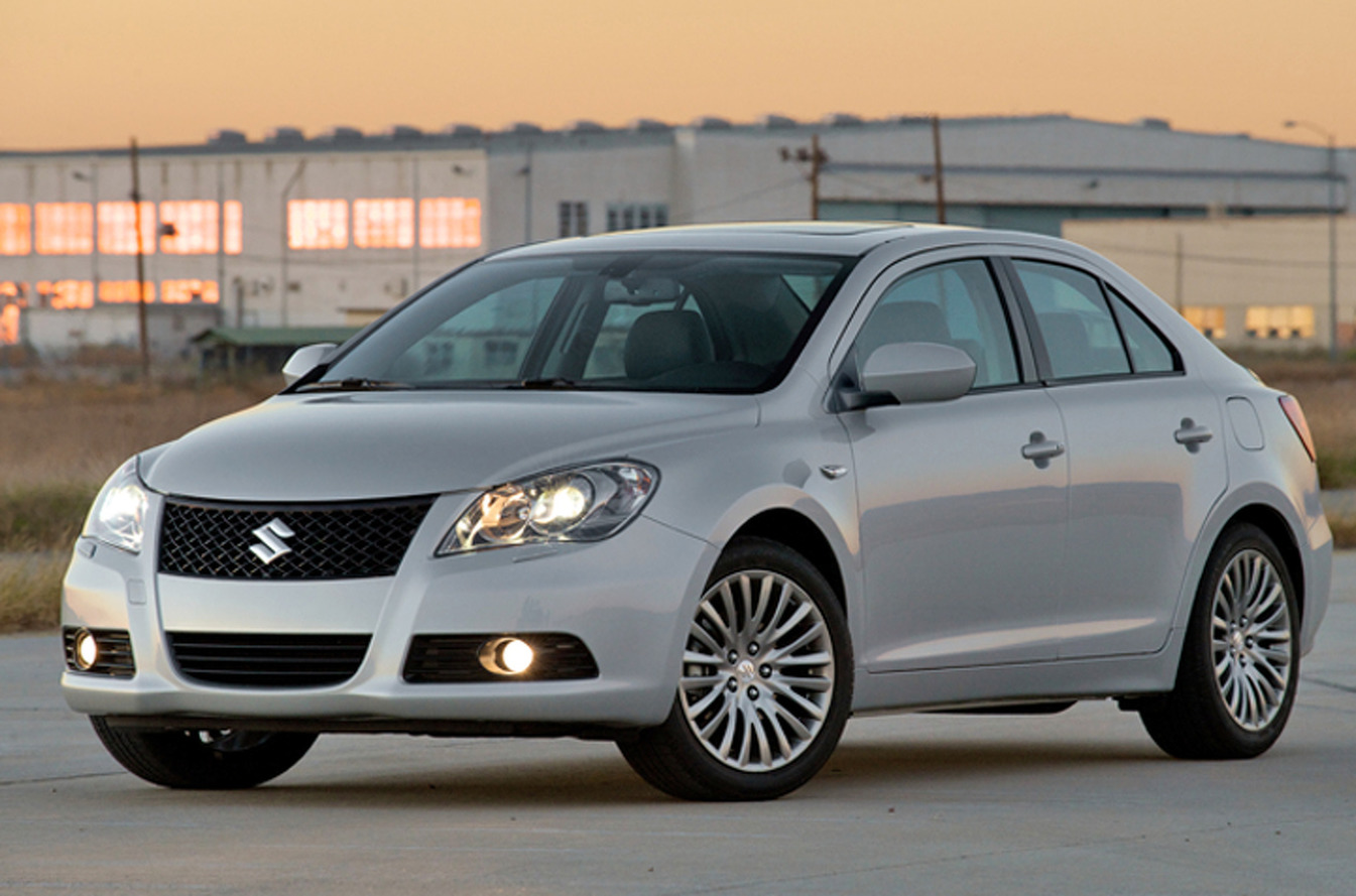 50 Cent Owns a Suzuki Kizashi? Wait, What?