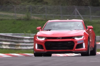 Watch the New Chevrolet Camaro ZL1 Attack the Nürburgring