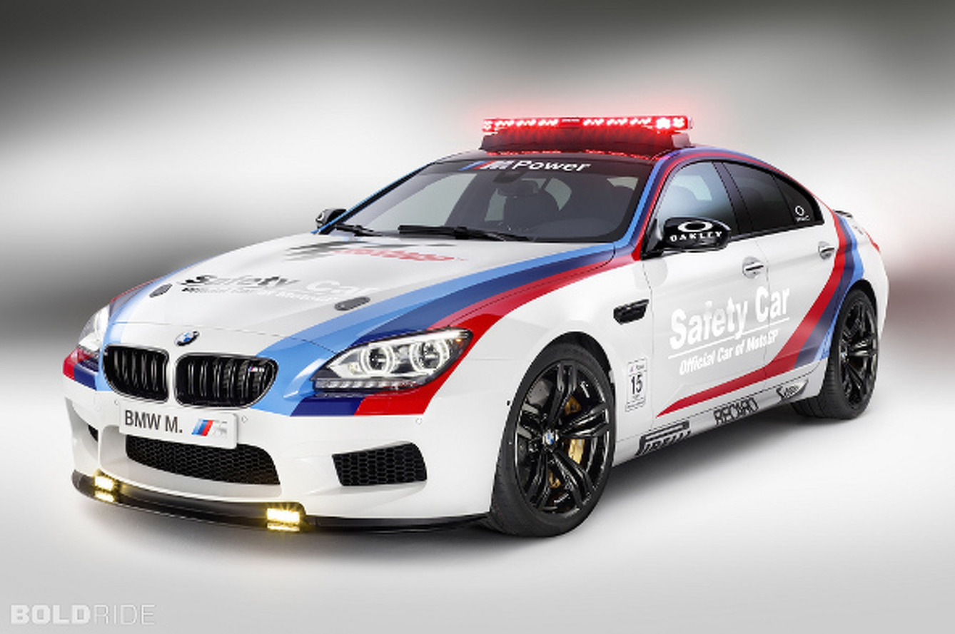 Fast Responder: 2013 BMW M6 Gran Coupe Safety Car