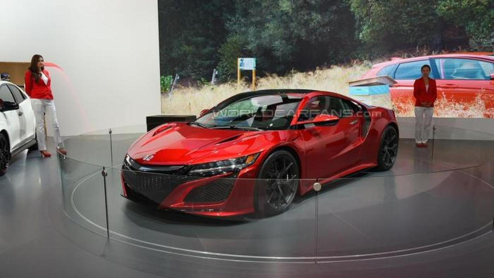 Honda says NSX still in final stages of development; production begins next spring