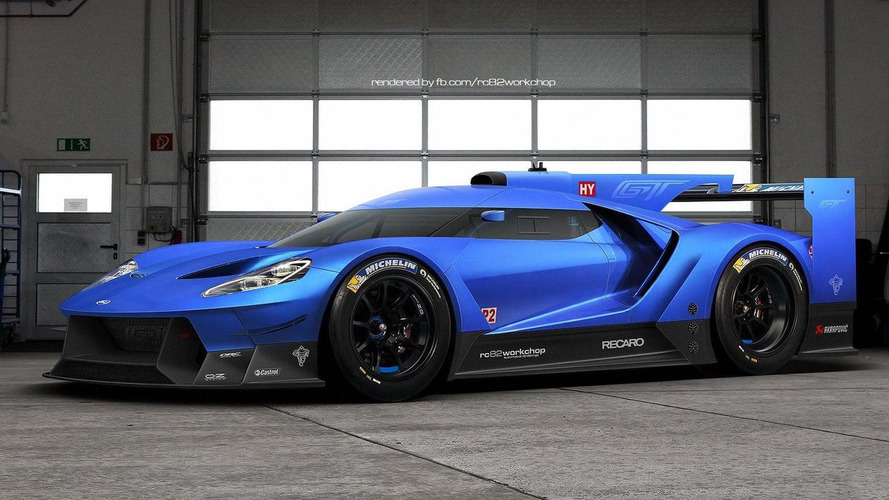 Ford hints at GT racecar reveal this Friday