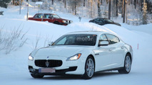 2017 Maserati Quattroporte facelift spied for the first time