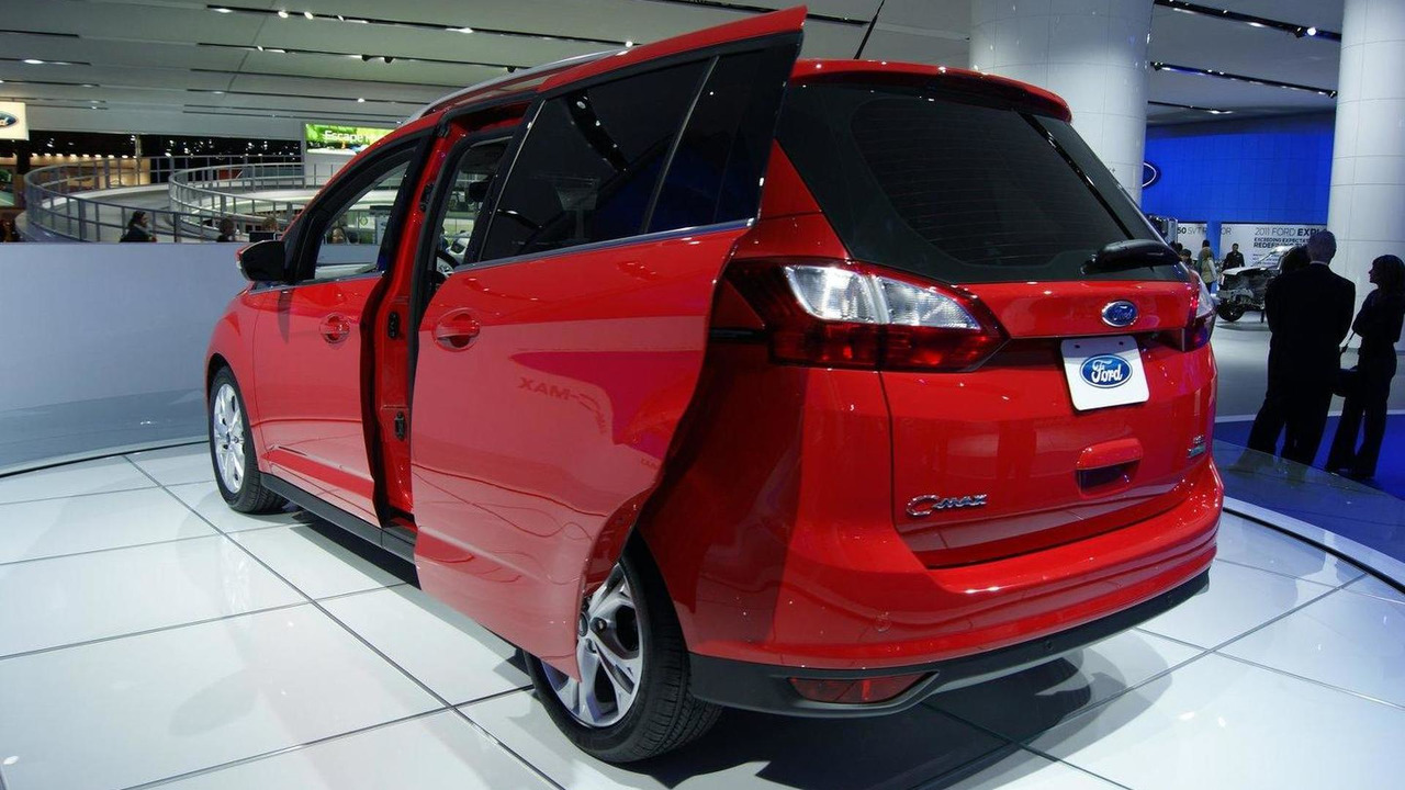 2012 Ford C-MAX live in Detroit 10.01.2011