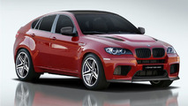 BMW X6M by Vorsteiner preview renderings 18.03.2010