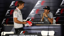 Whitmarsh, Button, aim mind games at Red Bull