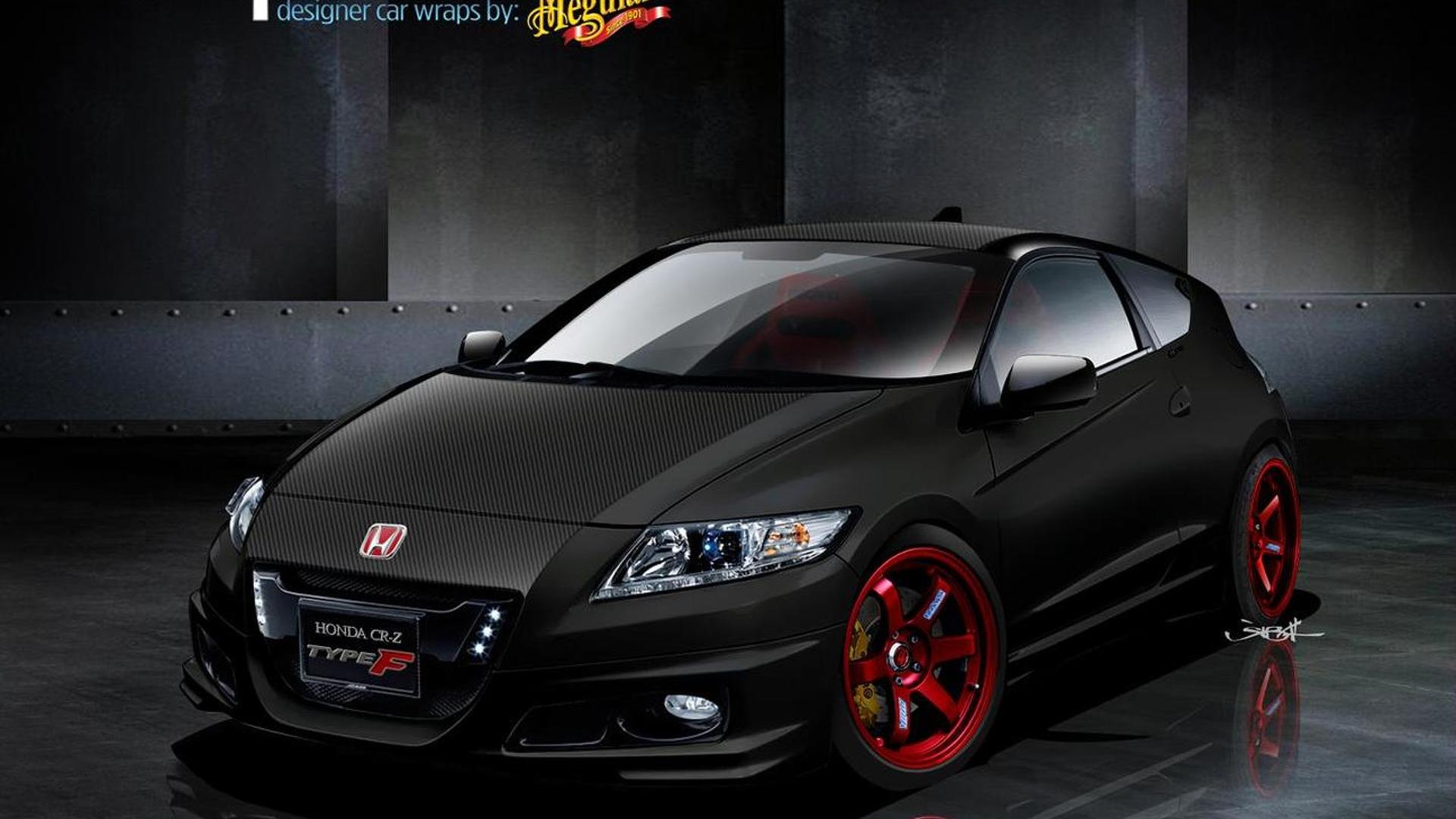 Wraptivo Honda CR-Z Type F headed for SEMA