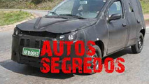 2011 Fiat Uno First Spy Photos Plus Artist Rendering