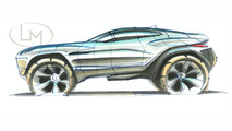 Rally Fighter concept sketch