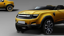 "Land Rover trademarks ""Landy"", could be a sub-Evoque model"