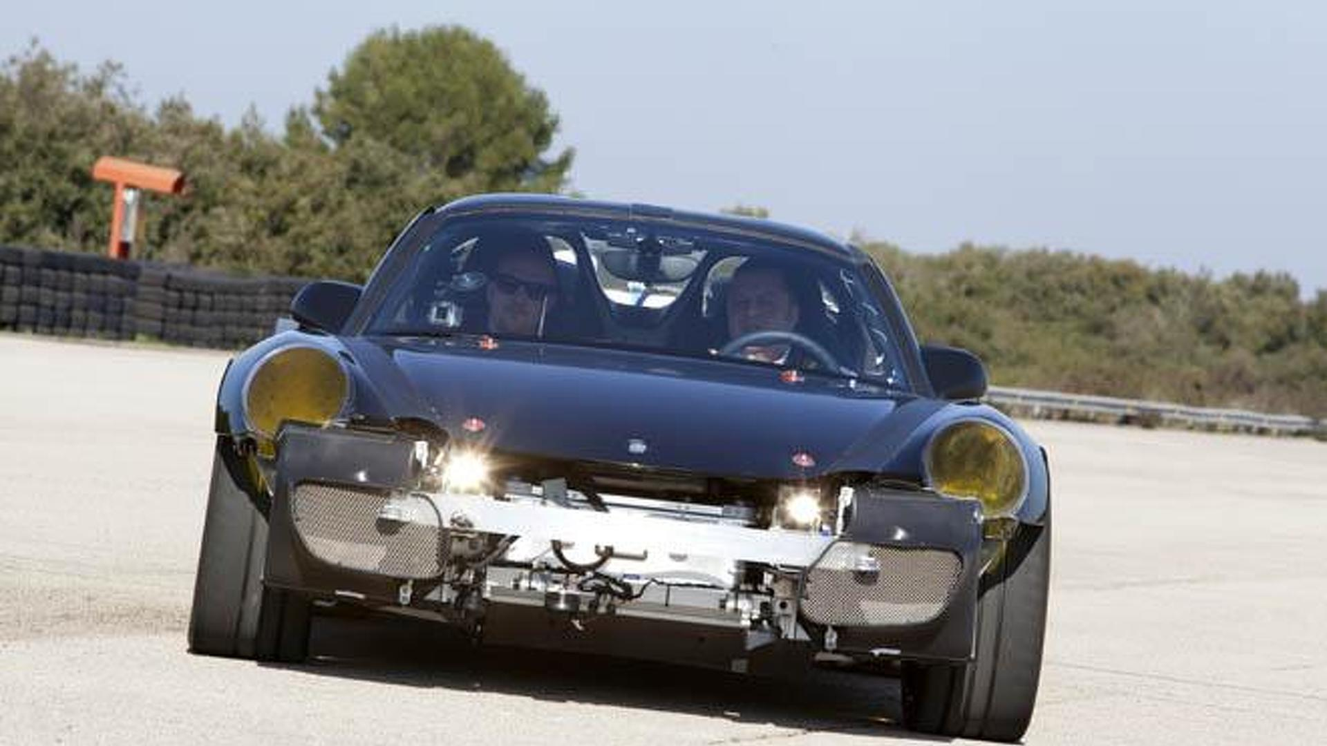 Is this the production Porsche 918 Spyder ?