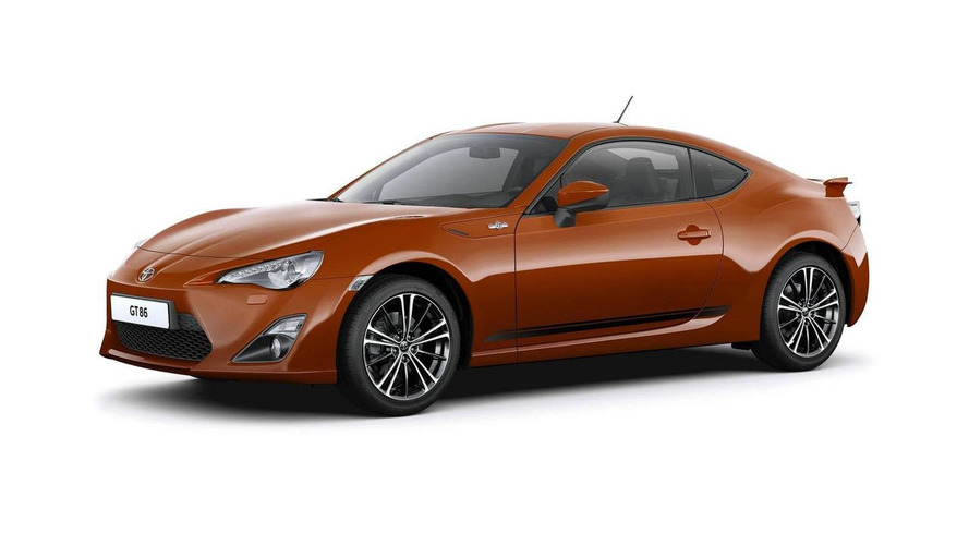 Toyota GT 86 accessories introduced in Germany