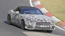 BMW Z5 poses for the camera at the Nurburgring