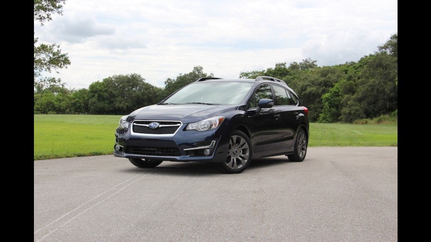 The 2016 Subaru Impreza Hatchback is Vanilla With All-Wheel-Drive: Review