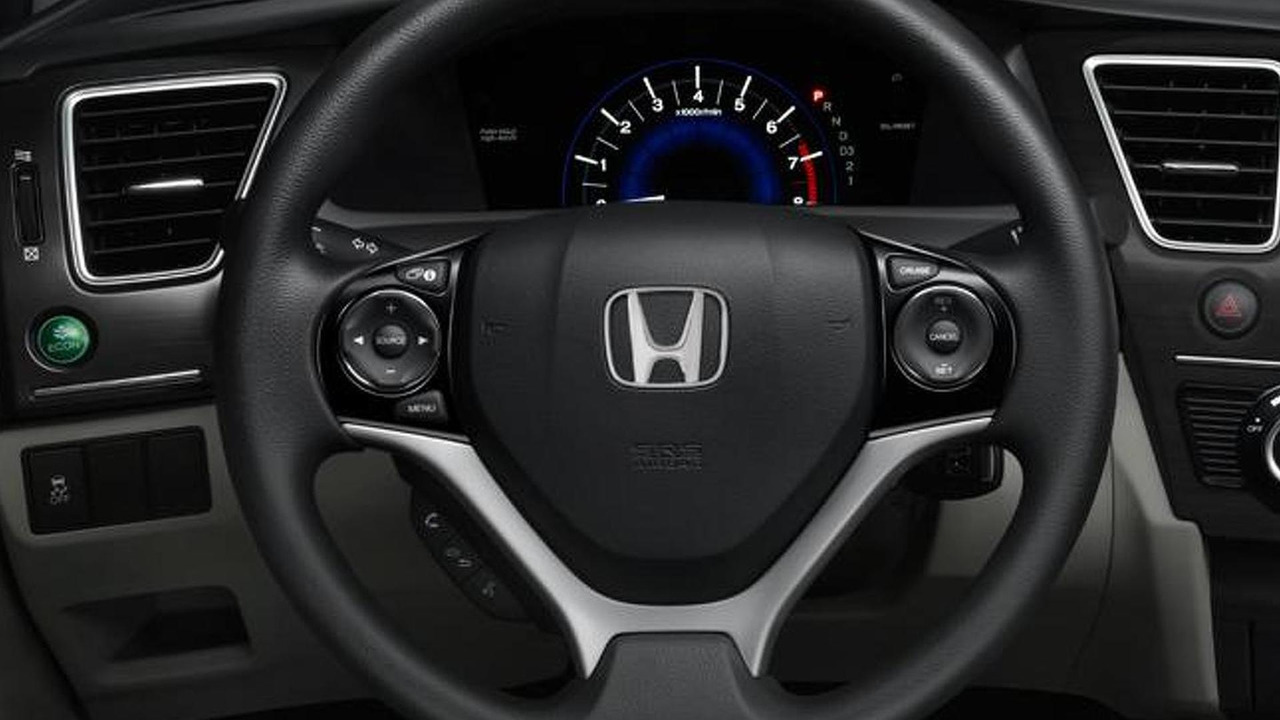 2015 Honda Civic Hybrid / Natural Gas